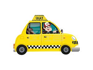 图汽车原创插画怪兽植物卡通甜品店汽车元素捷豹xe全款图片