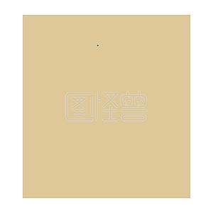 Illustration monster original element simple yellow chinese fengyun