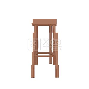 柜子的凳子和小蓝色设计图双金属标安装埋设设计图图片