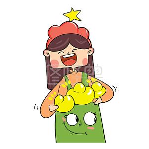 Figure Monster Original Elements Congratulations Fa Cai Cartoon Emoji Pack