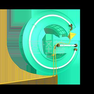 英文字母图纸M大写立体字母字母3D数字素材灯管易筋图片