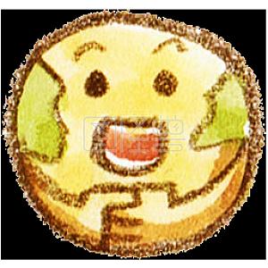 水果可爱表情少女v水果元素装饰卡通格挡高表情包天刀真武图片