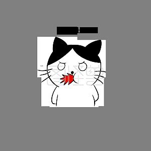 长颈鹿气吐血表情形容表情的吃货可爱图片