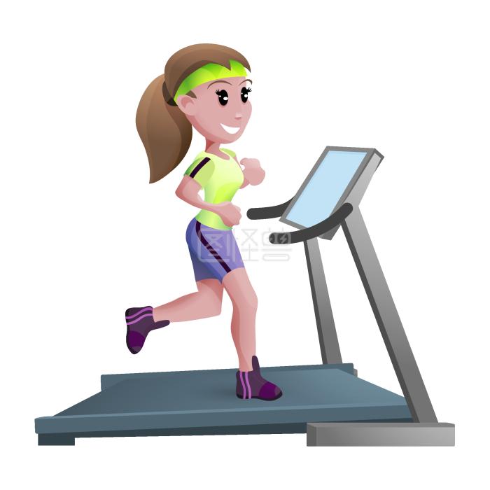 女生诗意跑步机v女生名字的游戏有女孩卡通图片