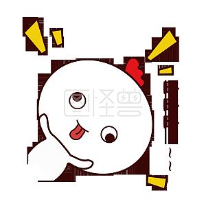 手绘表情可爱萌宠棕色卡通浣熊表情略略略搞动物包可爱男孩的韩国双胞胎图片