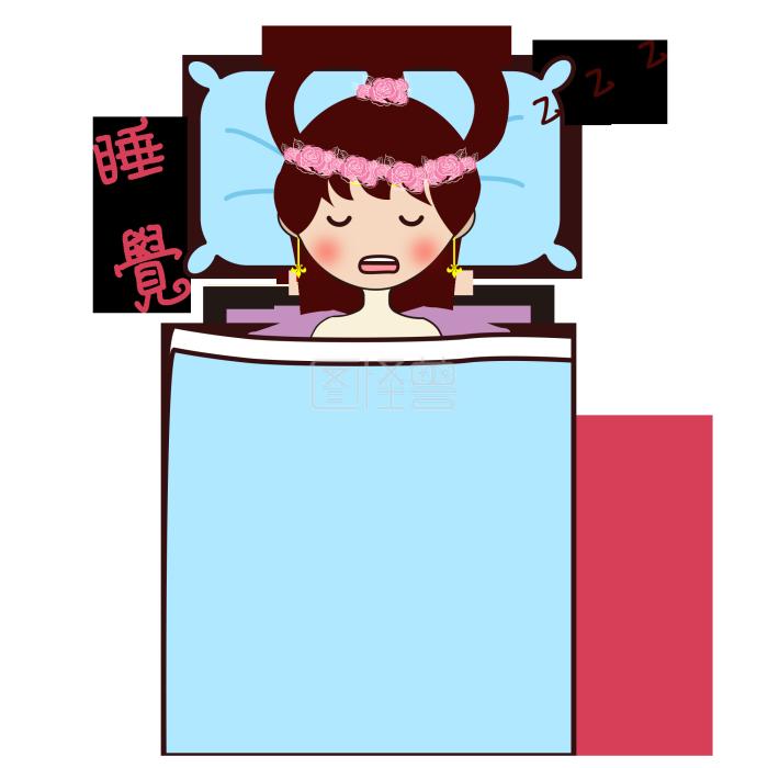 表情手绘中秋嫦娥睡觉元素卡通表奖包你励情图片