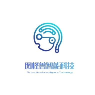 智能科技机器人logo设计