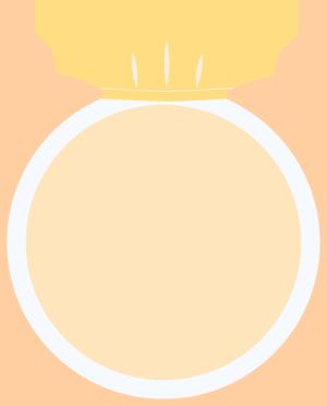 图怪兽原创素材女王节王冠头像框1