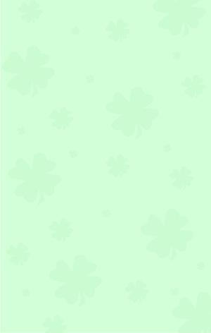 图怪兽原创元素绿色四叶草纹理背景1
