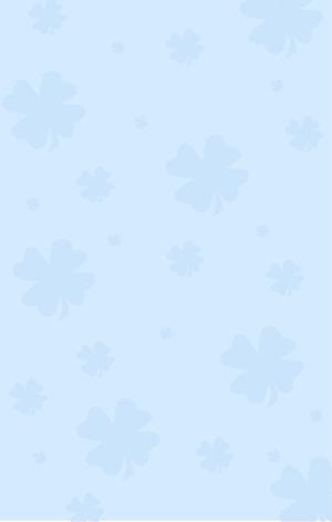 图怪兽原创元素浅色四叶草纹理背景1