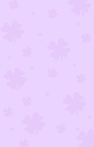 图怪兽原创元素紫色四叶草纹理背景1
