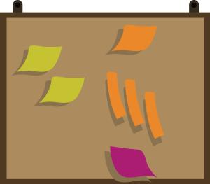 图怪兽原创元素清新手绘标签板插画元素