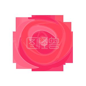 图怪兽原创元素红色喜庆婚庆插画元素