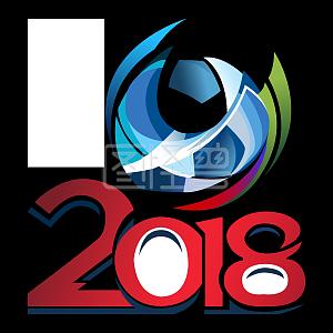 俄罗斯世界杯徽章足球