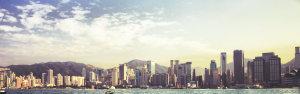 房地产城市企业banner展架模板PSD分层图片素材