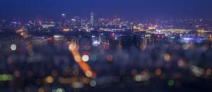 梦幻夜幕下的京城
