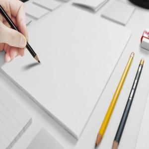 铅笔素描绘画背景