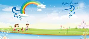 夏季亲子活动海报设计PSD源文件