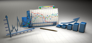 金融3D立体统计图