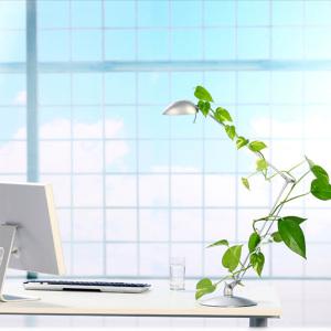 清新办公桌背景