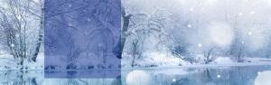冬季白雪海报