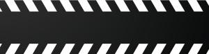 黑色斑马线banner