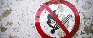 禁烟标志背景
