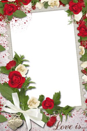 浪漫婚礼海报