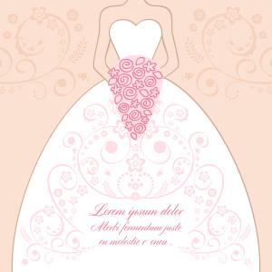 结婚婚纱背景