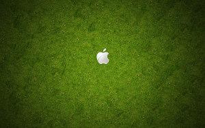 苹果logo背景