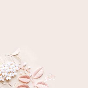 小清新粉色3d花背景