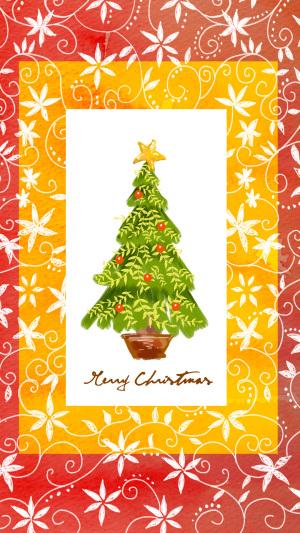 圣诞树元旦素材PSD