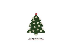 简约圣诞树