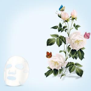 清新花朵面膜蓝色主图