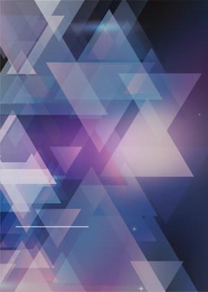 几何图形PSD海报背景素材