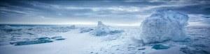 南极冰裂缝