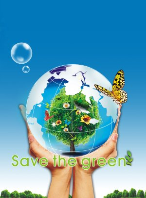保护地球海报背景模板大全