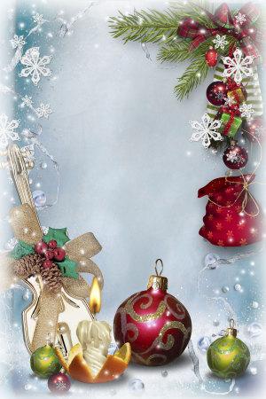 圣诞背景海报素材