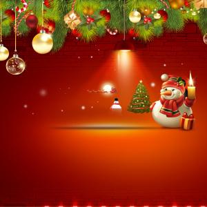 庆圣诞 圣诞DM 宣传单背景素材