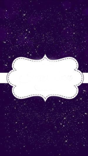 紫色星空H5背景