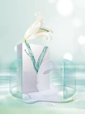 面膜化妆品海报