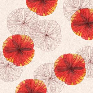 花瓣背景无框画