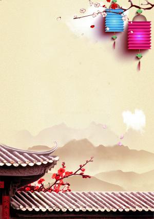 春节鸡年新年年夜饭宣传海报DM
