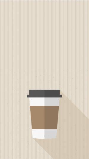 复古的咖啡杯包装