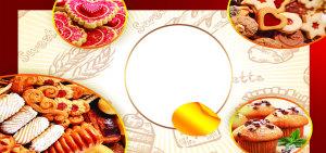 面包食物海报模板PSD源文件