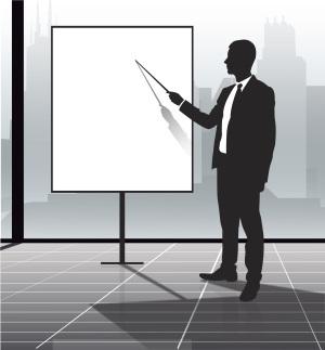 教育培训办公矢量背景素材