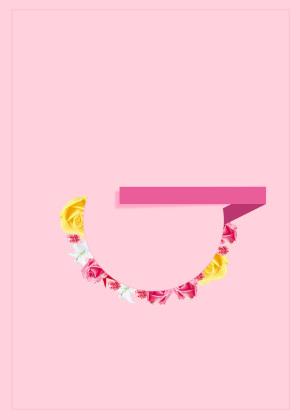 妇女节粉色时尚背景素材