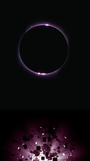 圆圈爆炸光源背景
