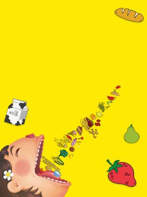 食品健康教育315海报背景
