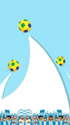春季足球运动会H5海报背景psd分层下载